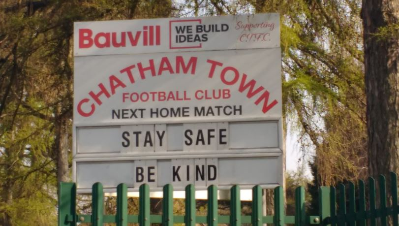 chatham town be kind scefl