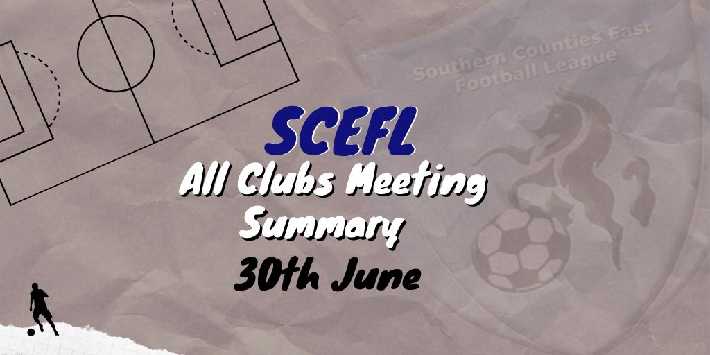 SCEFL All Clubs meeting 1