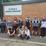 Fisher Fans Finish Fulham Fundraiser