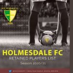 Holmesdale release Retained List